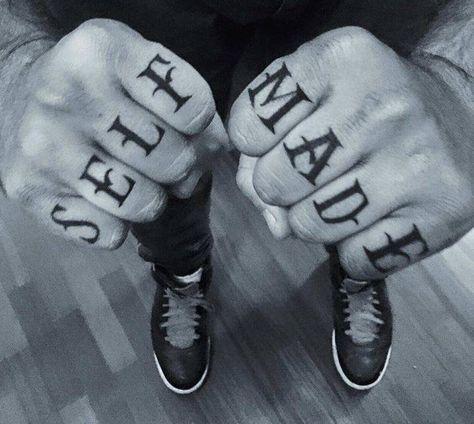 Knuckle Tattoos 19