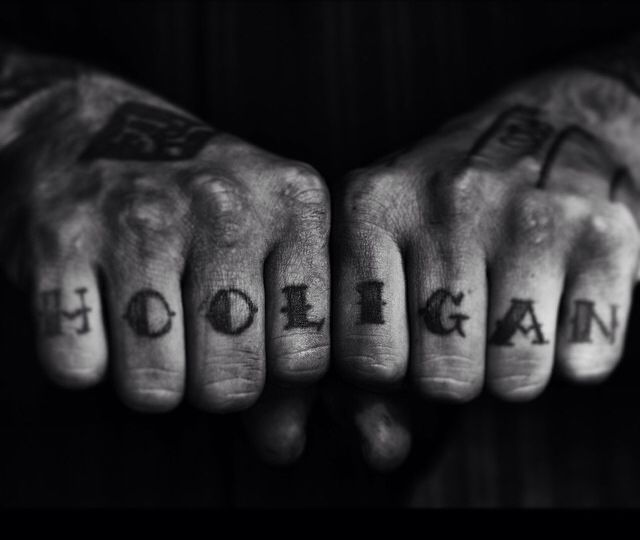 Knuckle Tattoos 2
