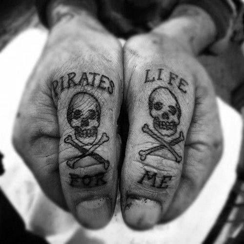 Knuckle Tattoos 27