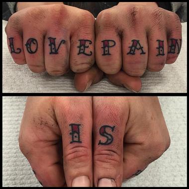 Knuckle Tattoos 3