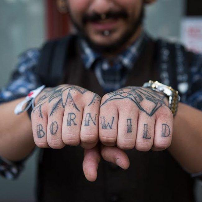Knuckle Tattoos 39