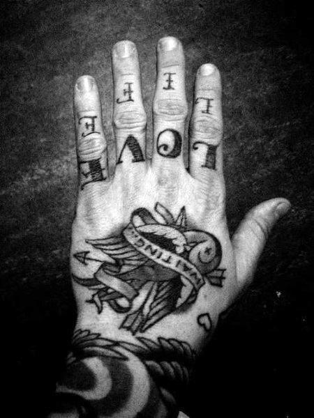 Knuckle Tattoos 44