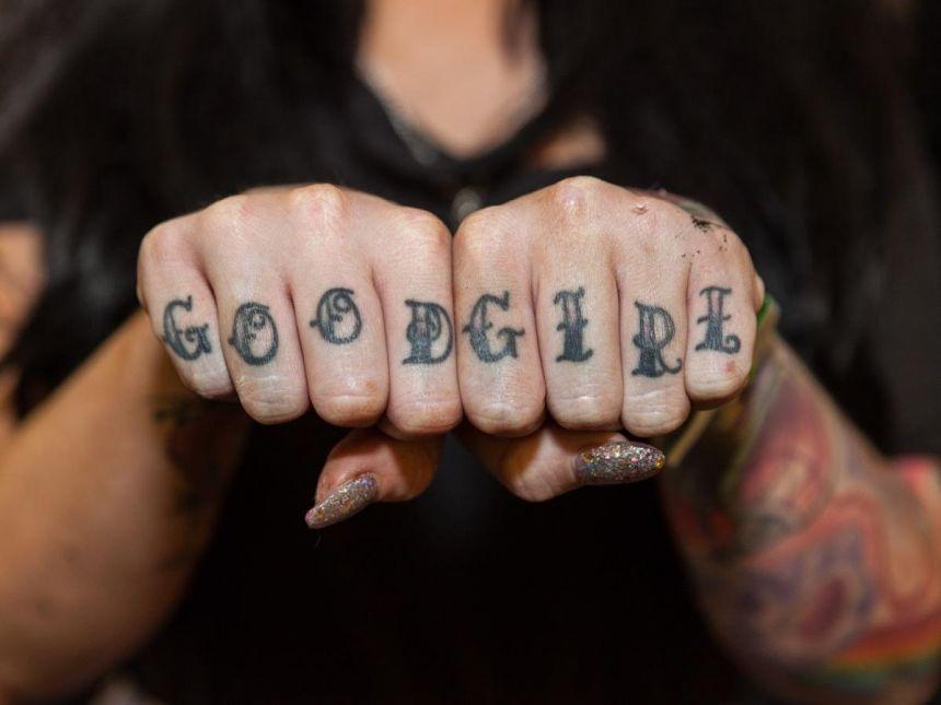 Knuckle Tattoos 45