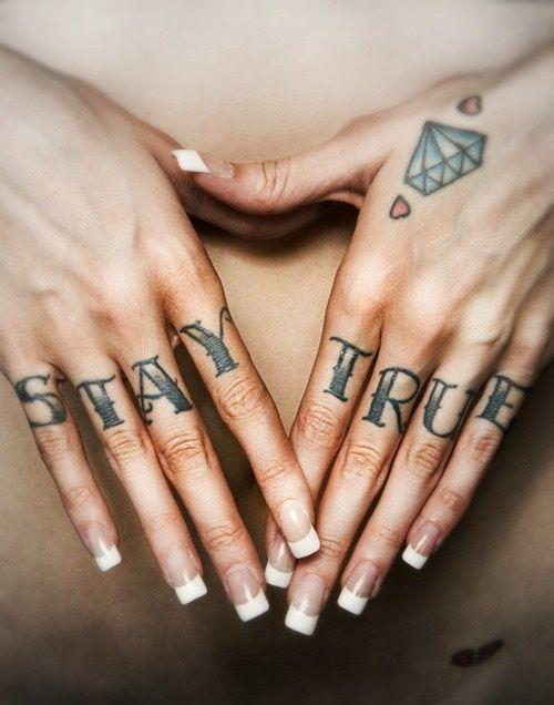 Knuckle Tattoos 46