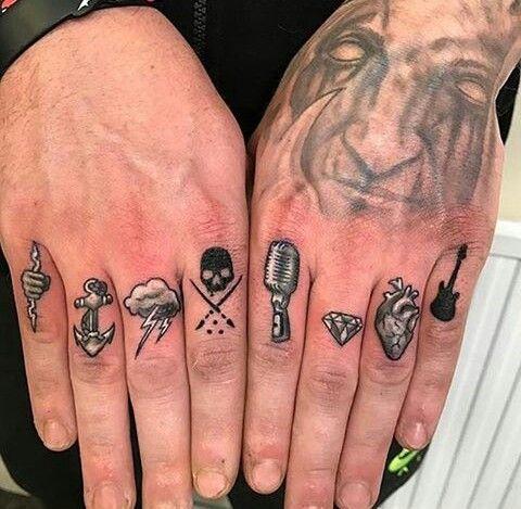 Knuckle Tattoos 54