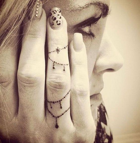 Knuckle Tattoos 57