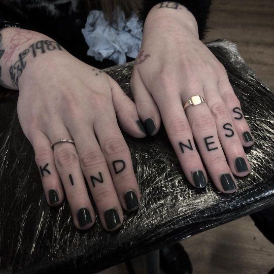 Knuckle Tattoos 59