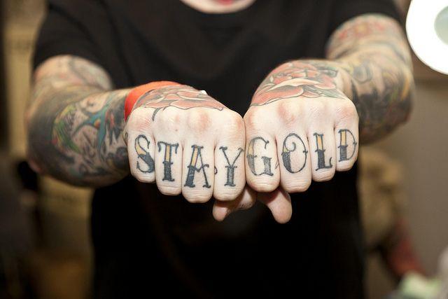 Knuckle Tattoos 6