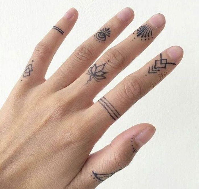 Knuckle Tattoos 67