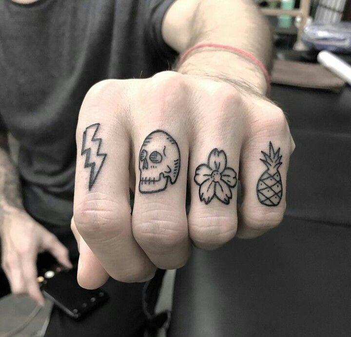 Knuckle Tattoos 74