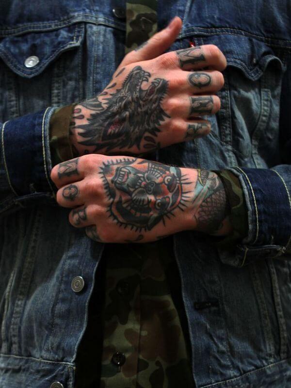 Knuckle Tattoos 82