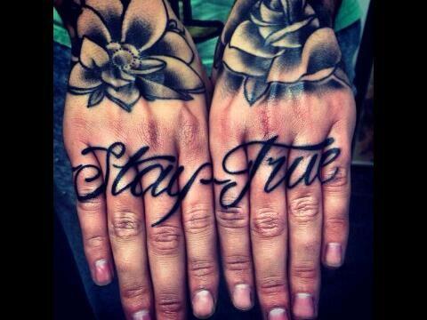 Knuckle Tattoos 9