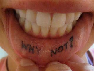 Lip Tattoo Ideas 22