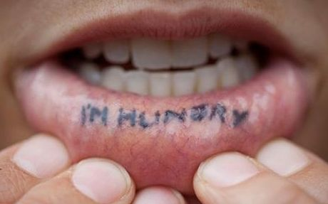 Lip Tattoo Ideas 85