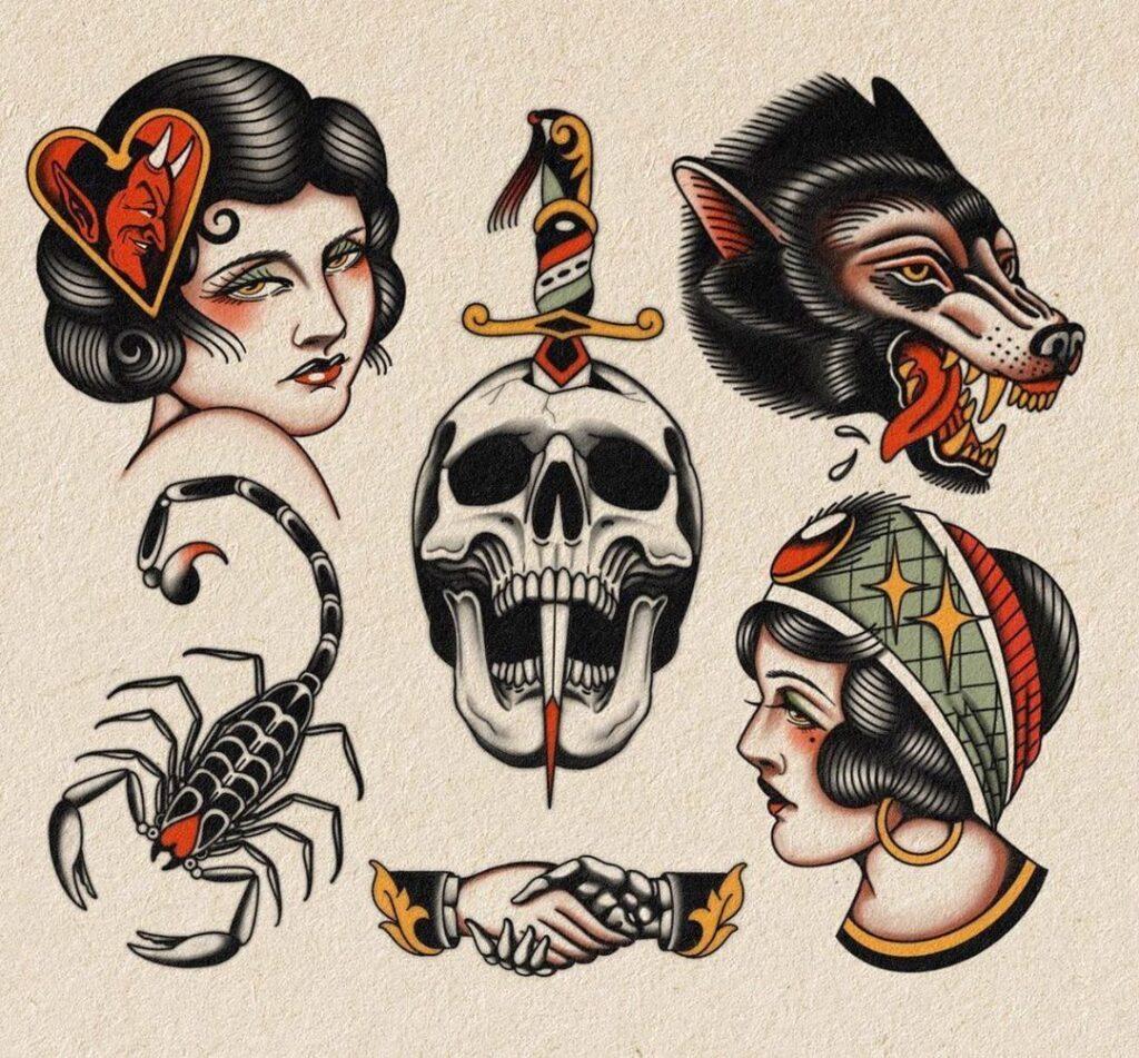 Old School Tattoo Designs 85