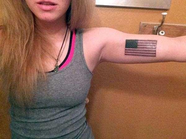 Patriotic Tattoos 15
