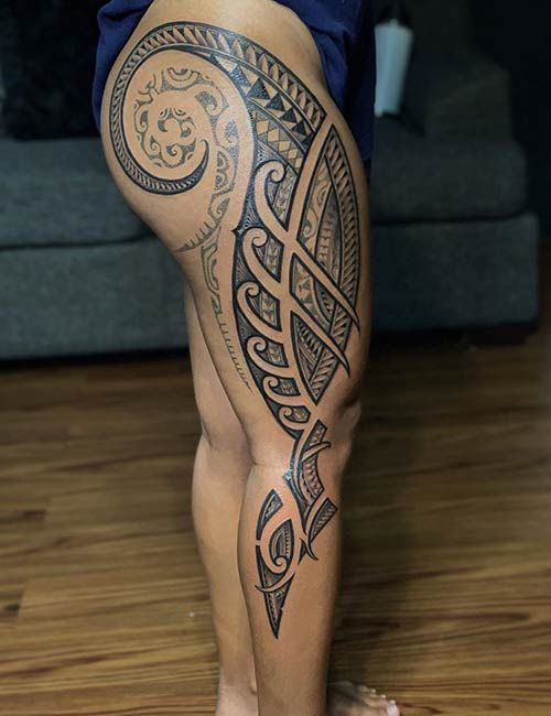 Polynesian Tattoos 16