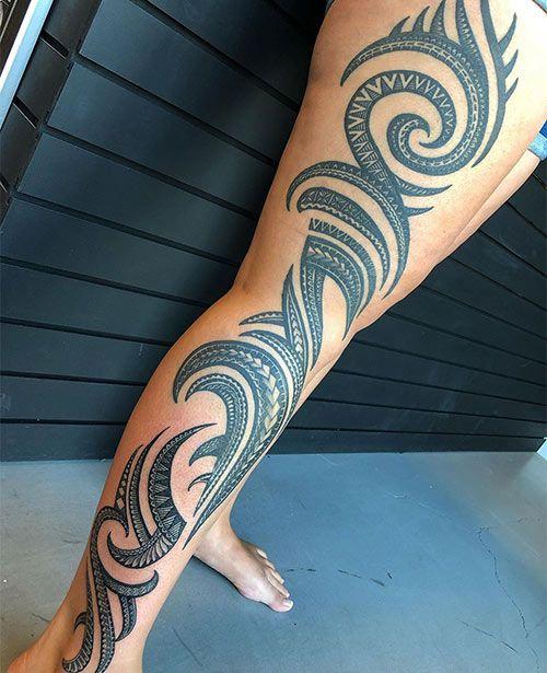 Polynesian Tattoos 74