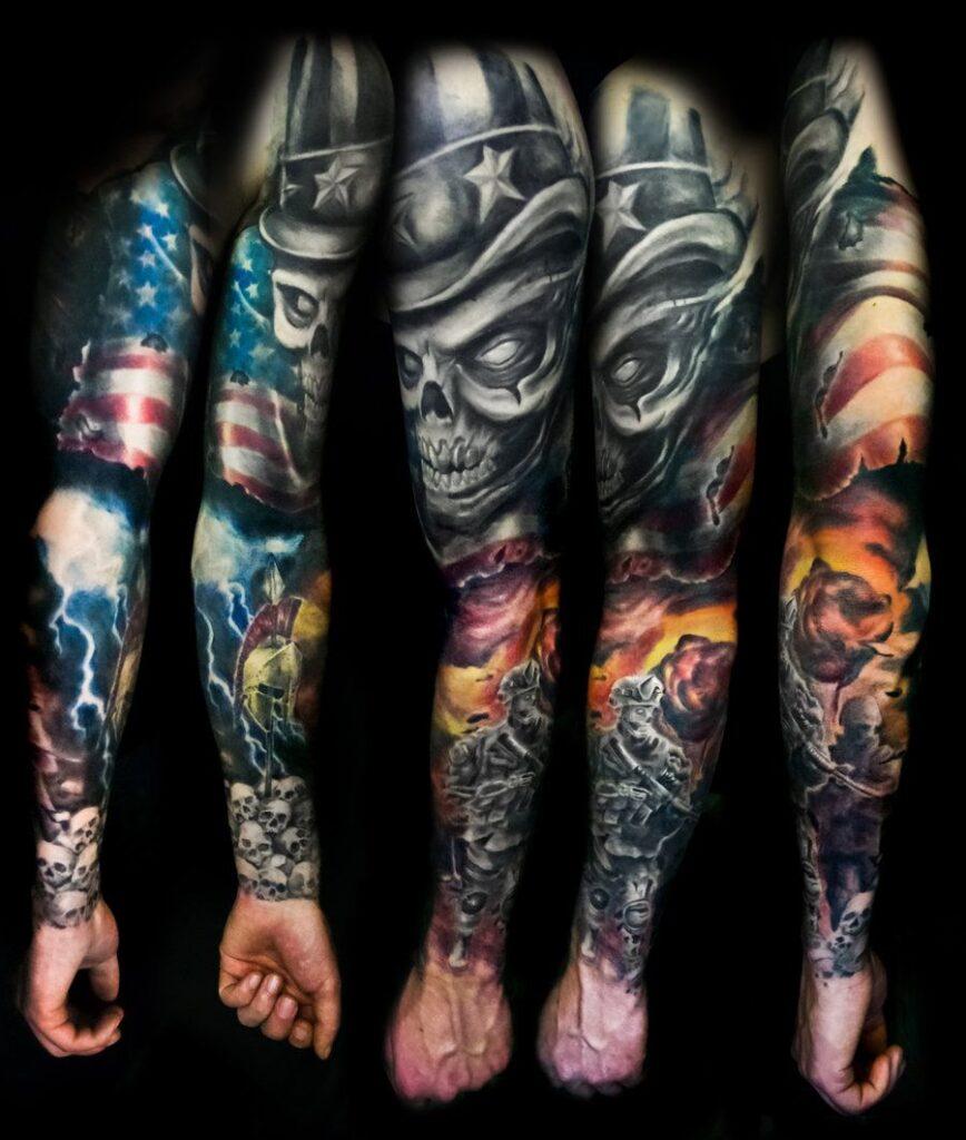 Tattoos Patriotic 95