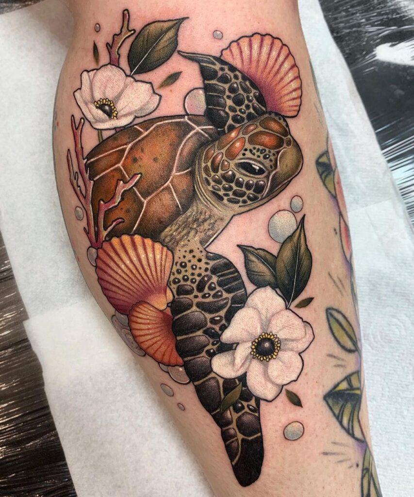 Turtle Tattoos 34