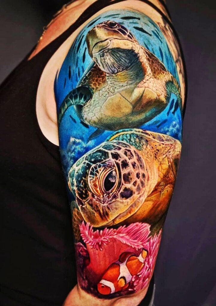 Turtle Tattoos 40