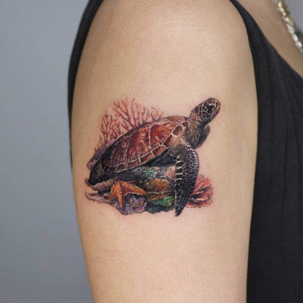 Turtle Tattoos 46