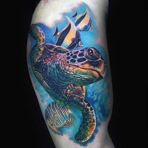 Turtle Tattoos 65