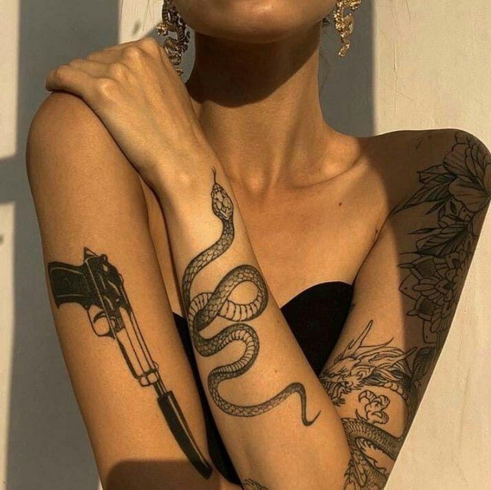 Aesthetic Tattoos 57