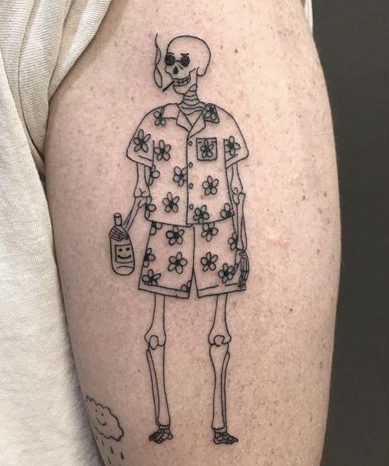 Aesthetic Tattoos 85