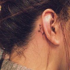 Behind The Ear Tattoos Designs 42