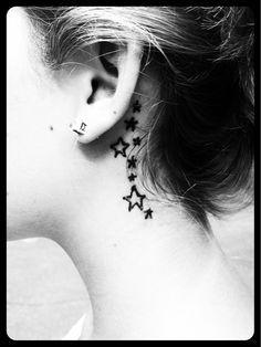 Behind The Ear Tattoos Designs 68