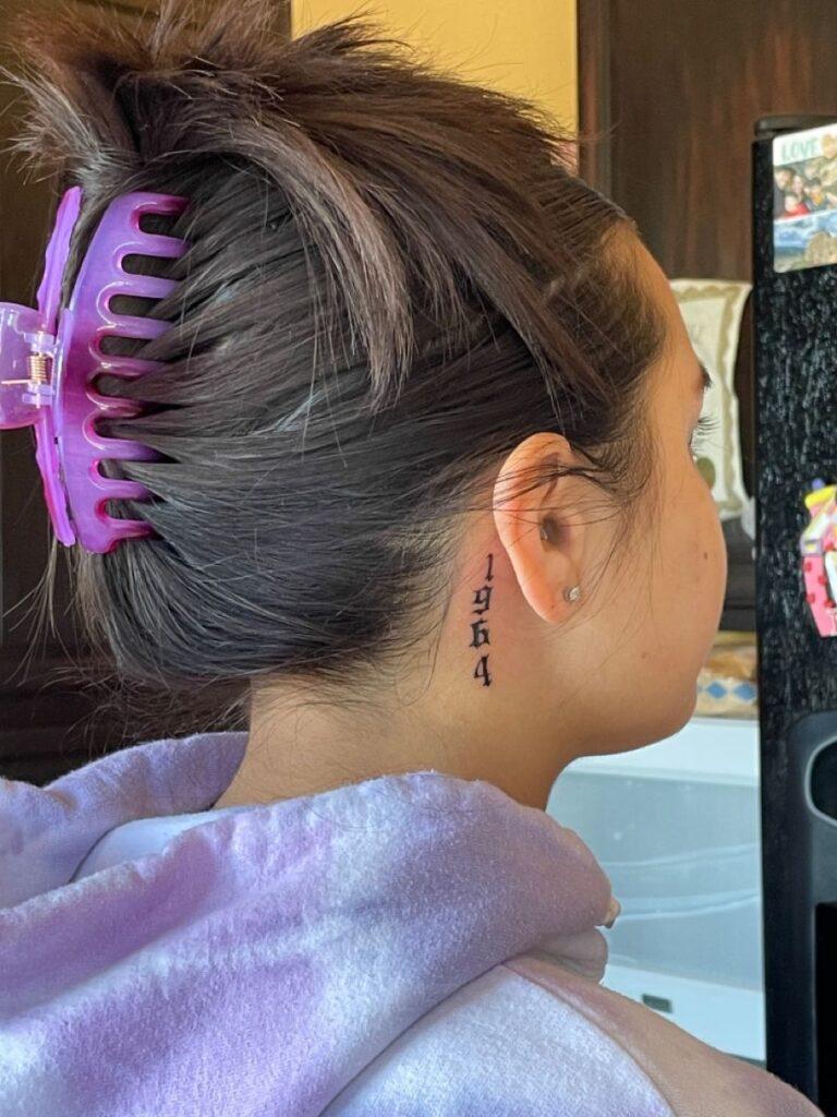 Behind The Ear Tattoo 101