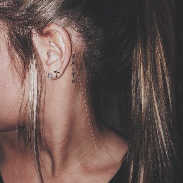 Behind The Ear Tattoo 2