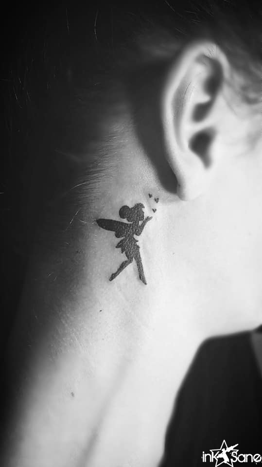 Behind The Ear Tattoo 3