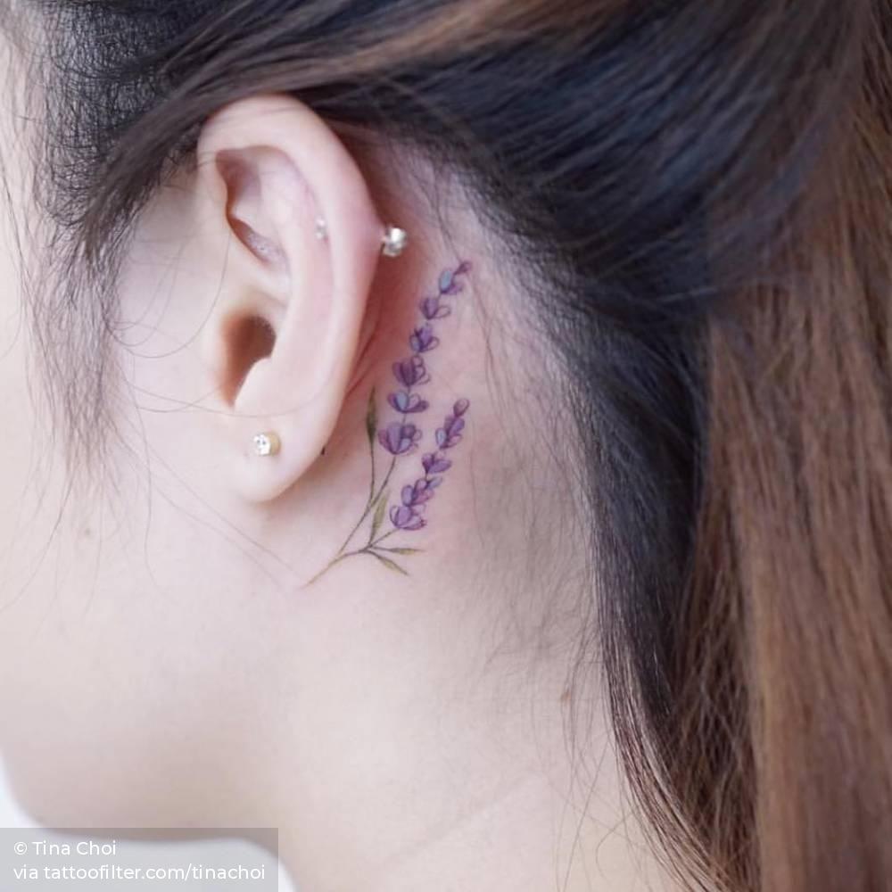 Behind The Ear Tattoo 31