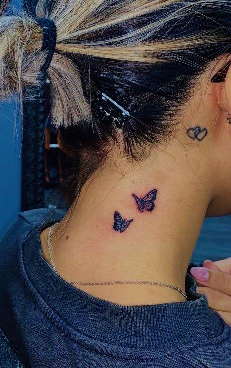 Behind The Ear Tattoo 32