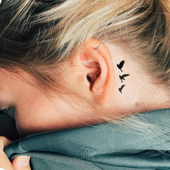 Behind The Ear Tattoo 50