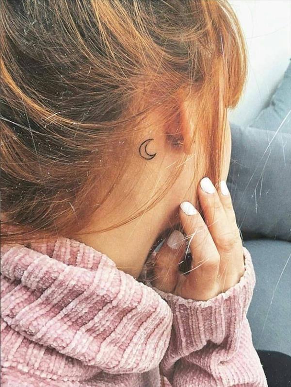Behind The Ear Tattoo 60