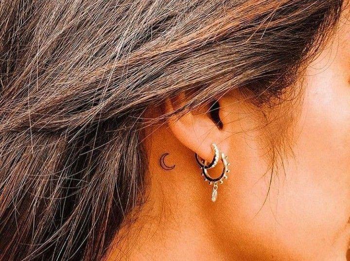 Behind The Ear Tattoo 82