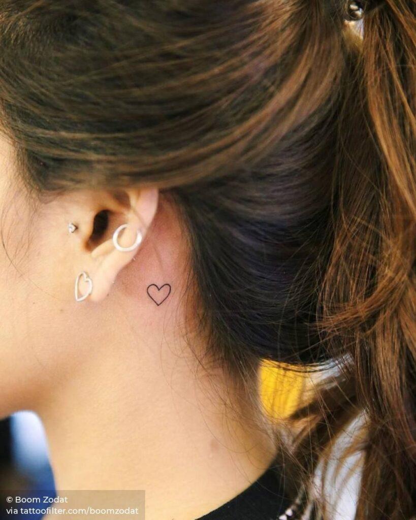 Behind The Ear Tattoo 85
