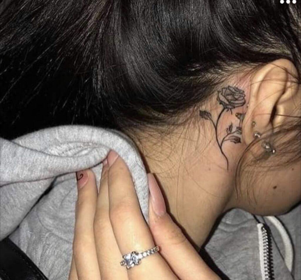 Behind The Ear Tattoo 87