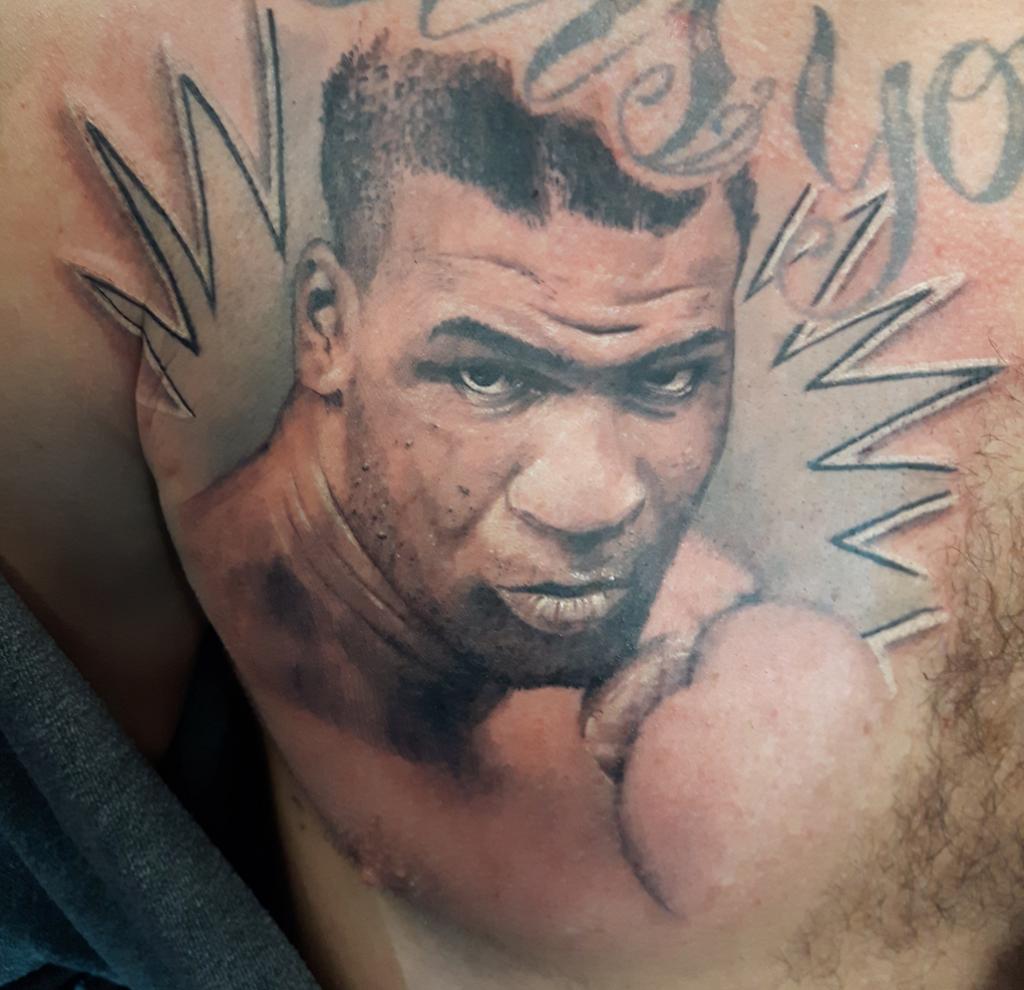 Boxing Tattoos 1