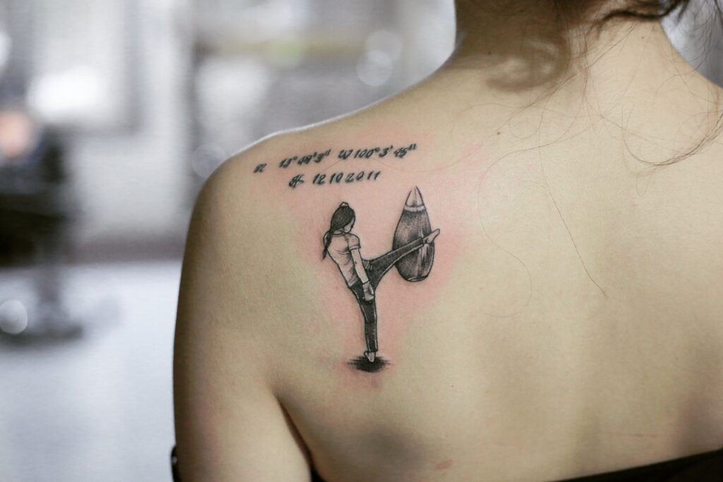 Boxing Tattoos 100