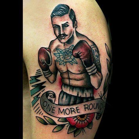 Boxing Tattoos 105
