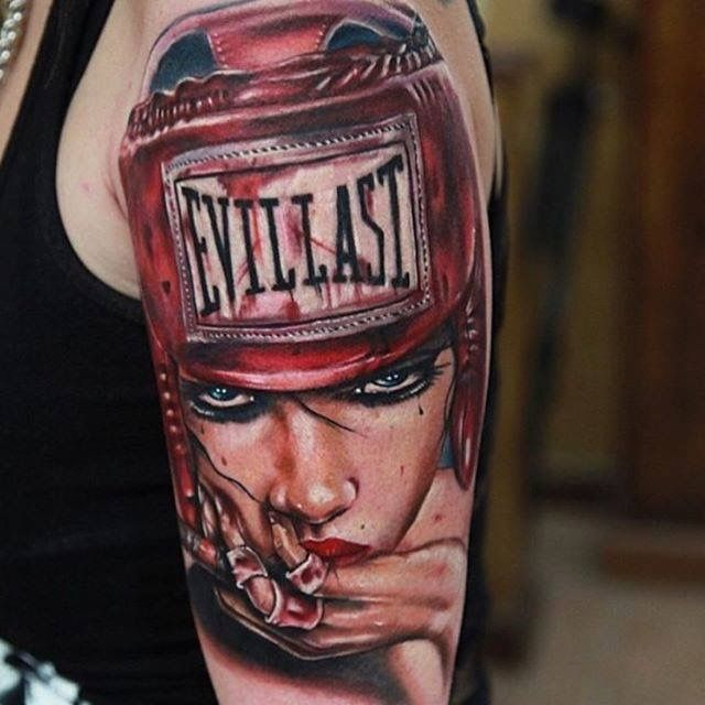 Boxing Tattoos 107