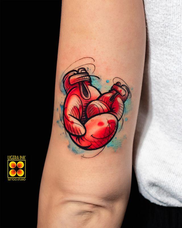 Boxing Tattoos 11