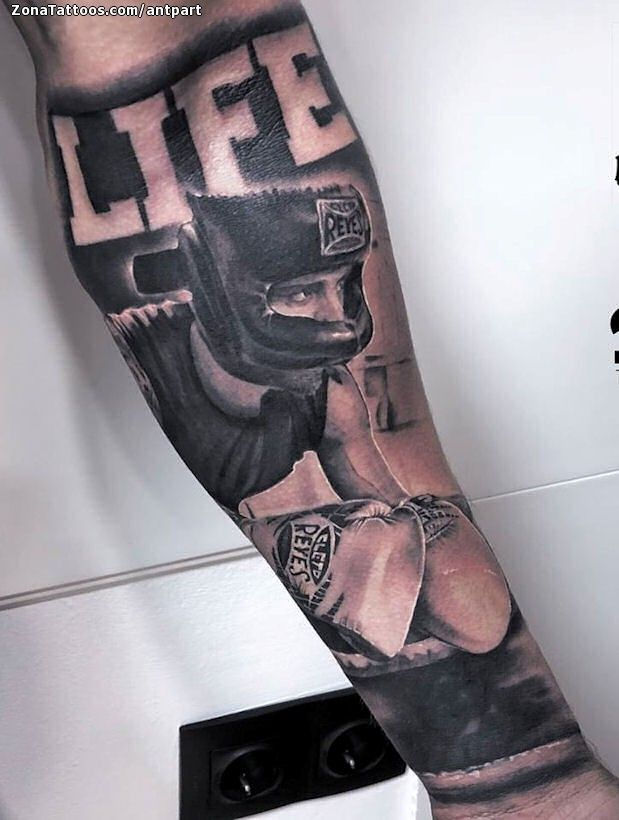 Boxing Tattoos 113