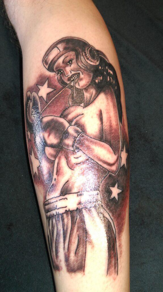 Boxing Tattoos 15