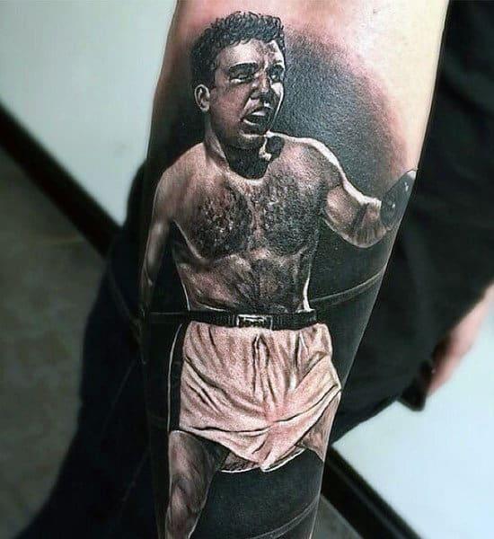 Boxing Tattoos 151