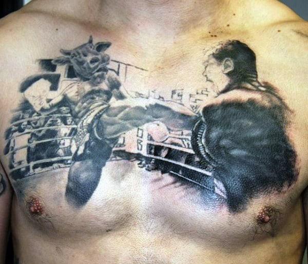 Boxing Tattoos 152